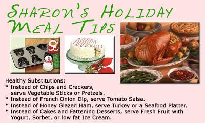 Sharon's Christmas Tips